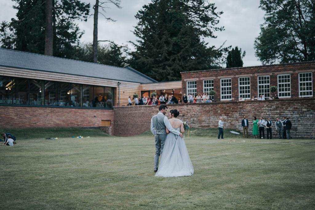 Frances & Grant Stevens-Bulmer Rustic Summer Meadow Wedding