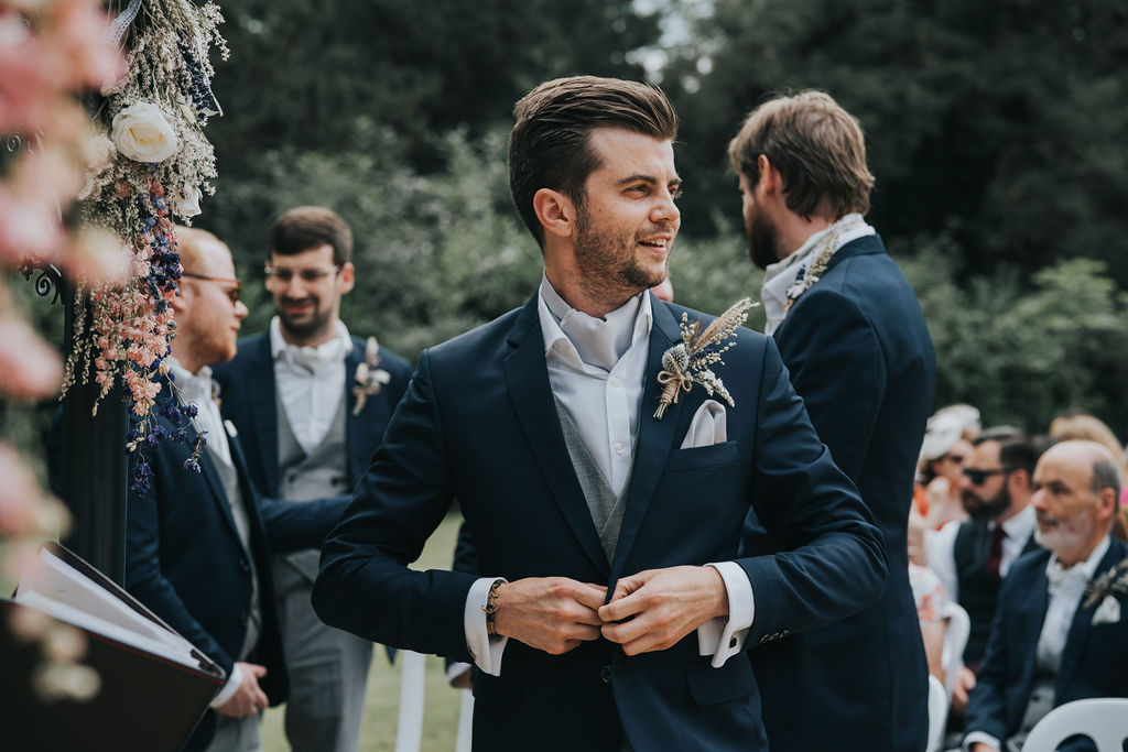 Suit Colours Perfect for Summer Weddings