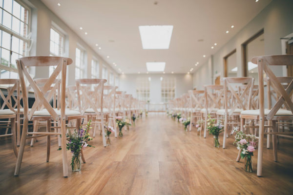 2. The Orangery Civil Ceremony_Bredenbury Court Barns Wedding Venue West Midlands
