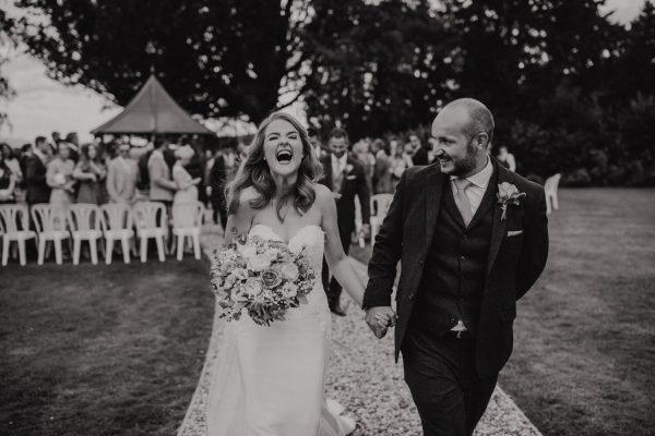 Outdoor Wedding Venues West Midlands_Bredenbury Court Barns_Outdoor Wedding Ceremony Venue