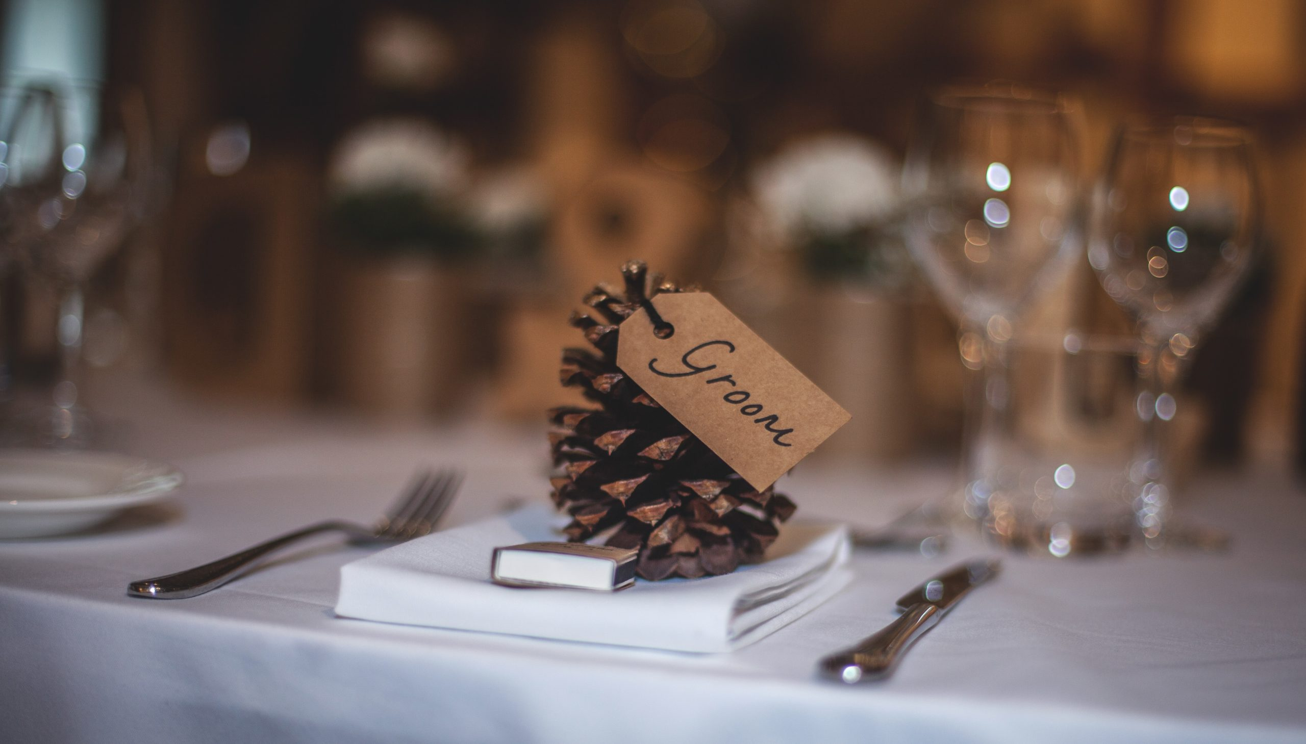 Winter Wedding Favours